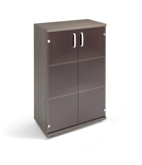 Шкаф средний со стеклянными дверями