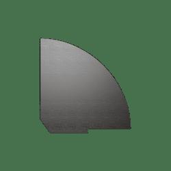 Полка для угловой секции (завершающий элемент)