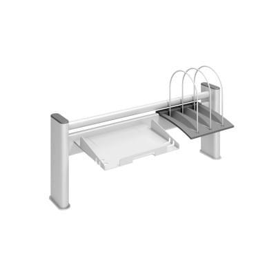 Надстройка на стол металлическая