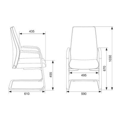 Кресло JONS-LOW-V/BEIGE
