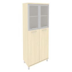 Шкаф со стеклом KST-1.7R в алюм.раме  801*432*2060