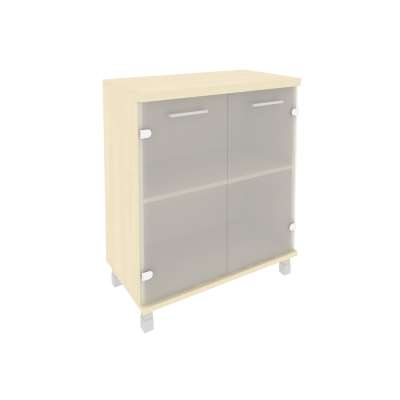 Шкаф низкий со стеклом KST-3.2  801*432*958