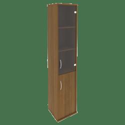 Шкаф узкий со стеклом 403х365х1975