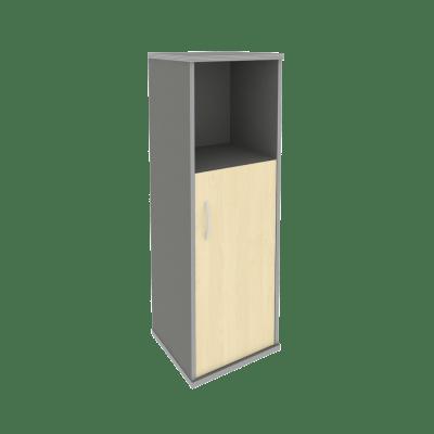 Шкаф средний узкий А.СУ-2.1 Л/Пр 403х365х1215