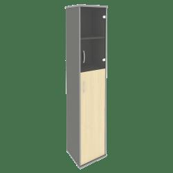 Шкаф узкий с нишей А.СУ-1.7 Л/Пр 404х365х1980