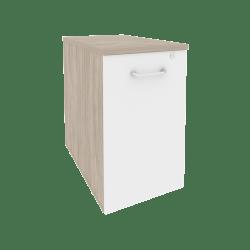 Тумба низкая выдвижная приставная/опорная O.VTPO-1.7 432*720*750
