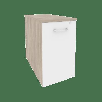 Тумба низкая выдвижная приставная/опорная O.VTPO-1.8 432*800*750