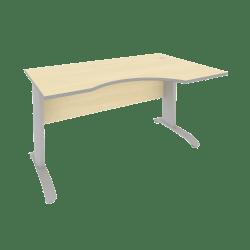 Стол письменный ПЛ.СА-2 Л/Пр 1400х900х750