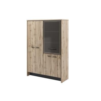 Гардероб + шкаф со стеклом Т-32-03 л/пр